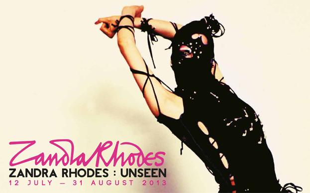 Zandra Rhodes: Unseen